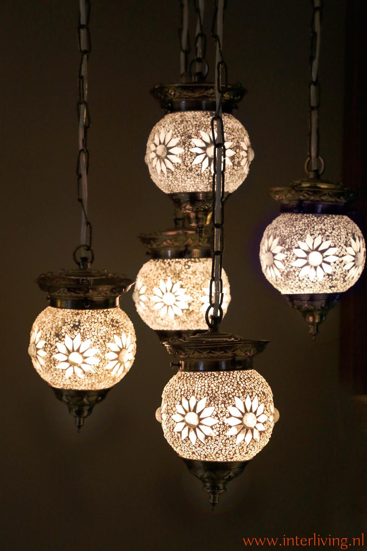Kroonluchter Voor Waxinelichtjes.Mozaiek Lampen Sfeerverlichting Collectie Mixen En Matchen