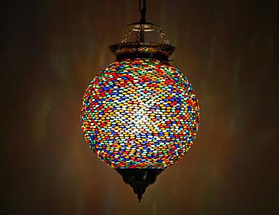 glasmozaiek hanglamp bol
