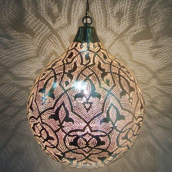 Filigrain gaatjes lampen, egyptische lampen, hanglampen en wandlampen