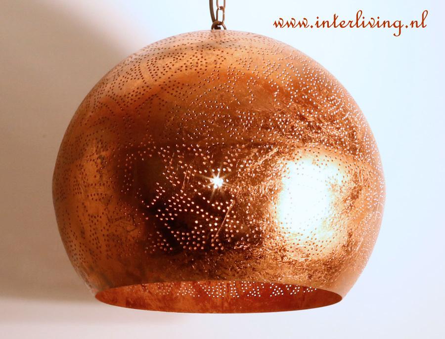 filigrain of gaatjeslampen - rood koper, vintage zilver bol en druppel, Deco ideeën