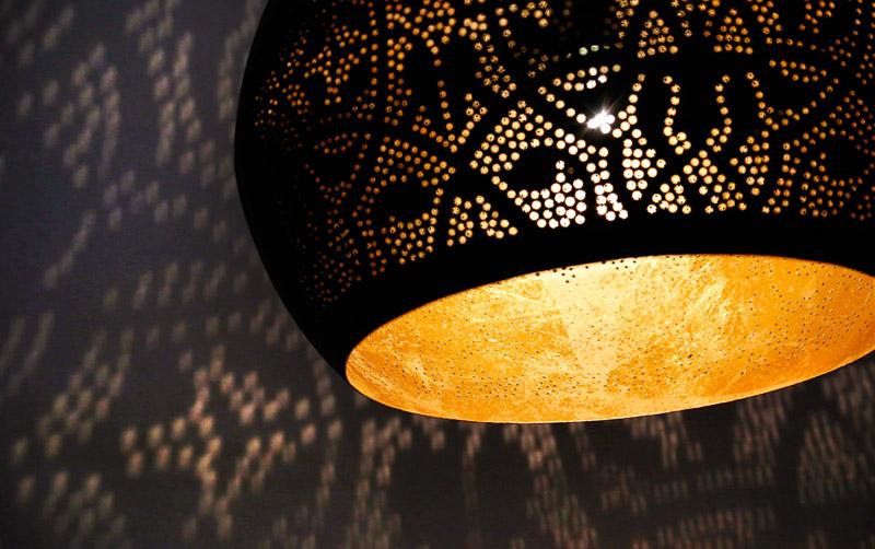 Filigrain Open Hanglamp Of Gaatjeslamp In Oosterse Sfeer