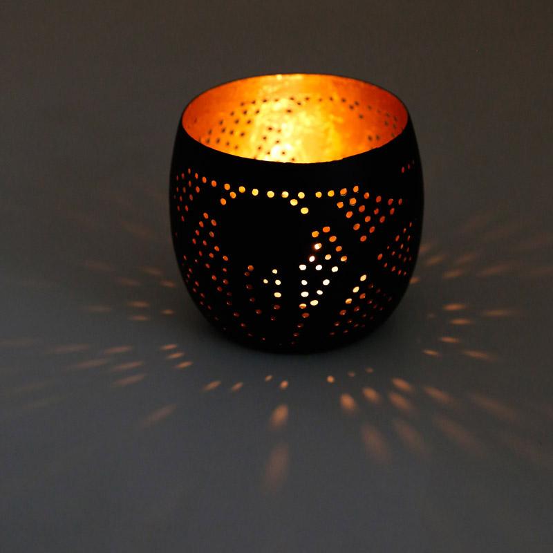 Oosterse Slaapkamer Lampen : Filigrain open hanglamp of gaatjeslamp in ...