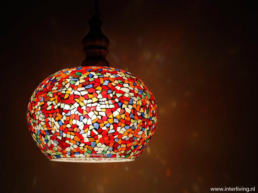 Gekleurde Slaapkamer Verlichting : grote hanglamp - model appel van ...