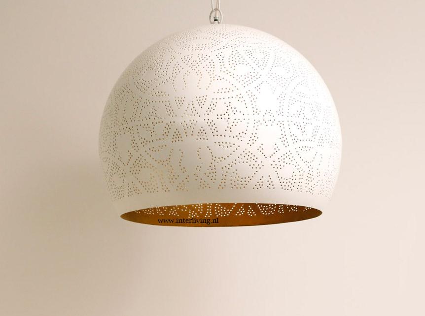 Hanglamp Slaapkamer Wit : Witte hanglamp - filigrain wit hoogglans ...