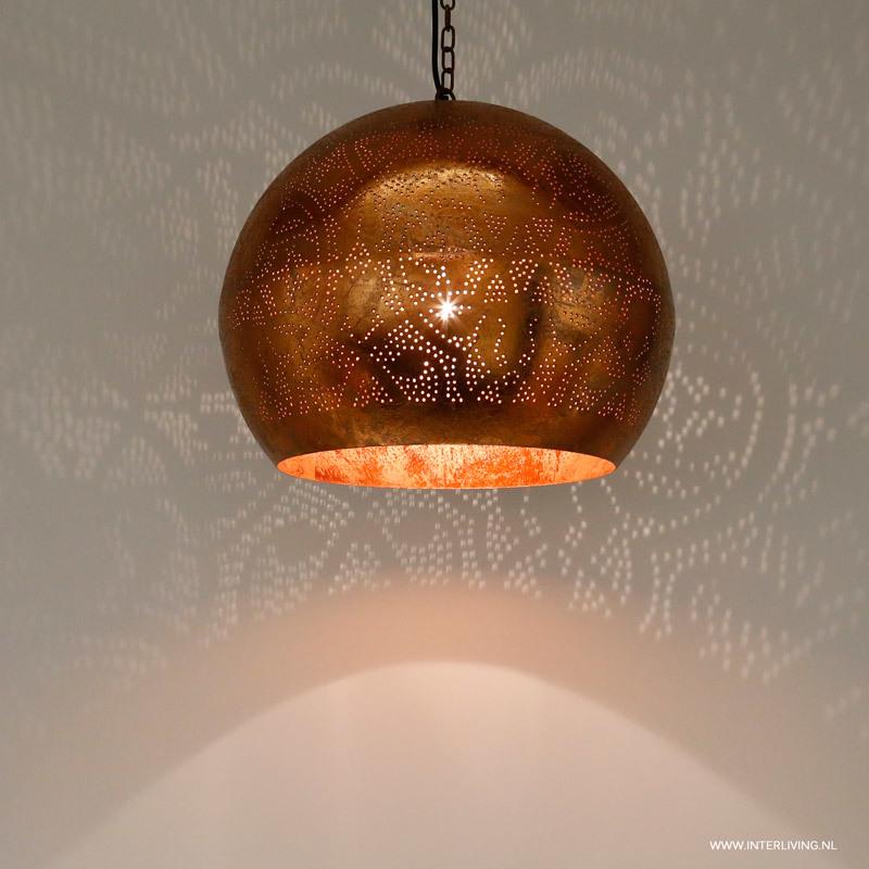 Hanglamp hanglamp zenza : Hanglamp Bol Oosters Filigrain Zilver Super Zenza Pictures to pin on ...