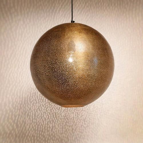 arabische gaatjeslamp magische verlichting filigrain open hanglamp