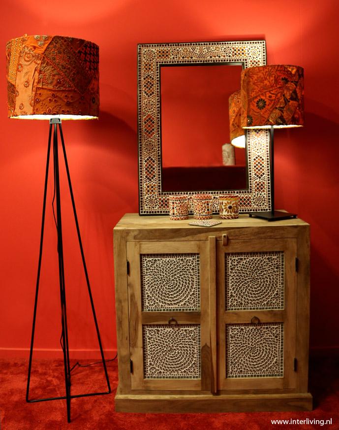 Lampenkap Patchwork Hanglamp Of Staande Lamp Op Lampvoet Webshop