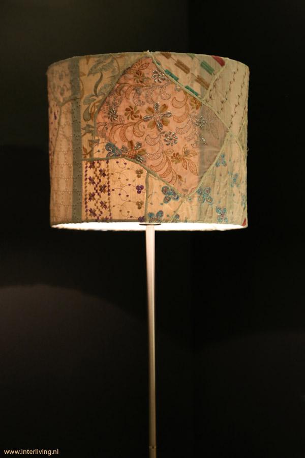 Lampenkap Patchwork Hanglamp Of Staande Lamp Op Lampvoet