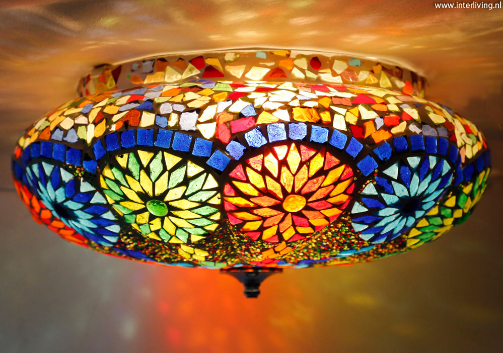 Slaapkamer Inspiratie Oosters : Lamp slaapkamer oosters: gekleurde oosterse lampen sfeer en living