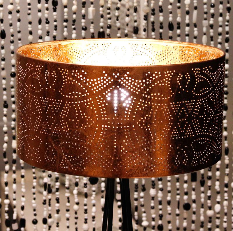 Filigrain lampenkap vintage koper 35 cm doorsnede u2013 introductieprijs ...