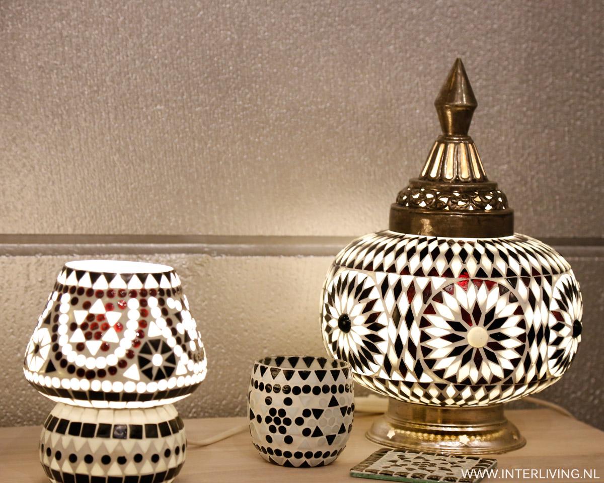 Woonaccessoires voor zwart wit interieur orientaalse for Interieur zwart wit