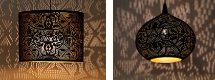filigrain oosterse arabische lampen