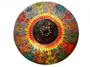 plafonniere mozaiek