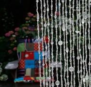Zomer bestseller: Gordijn 40 strings glaskralen met belletje