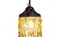 Glaskralen hanglamp