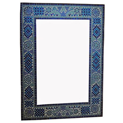 Spiegel glasmoza ek turkish design blauw shop for Designer spiegel shop
