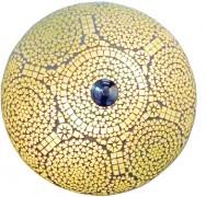 plafonnière van transparant mozaïek - 25cm