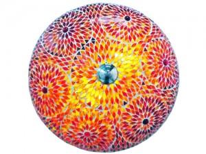 mozaiek plafonniere