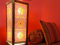 Orientaalse vloerlamp
