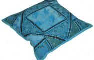 Mooi blauw  sierkussen voor slechts € 14,95!