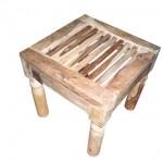 tafel van sheesham hout voor tuinset