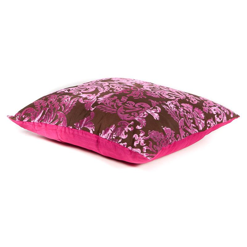 roze sierkussen fluweel zacht