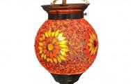 Prachtig mozaiek sfeerlampje!