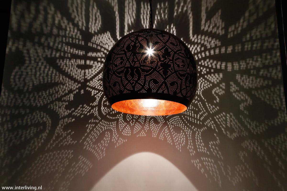 Slaapkamer Inspiratie Oosters : Hanglamp rusty oosterse bol xxl van antiek vintage zuiver roest look