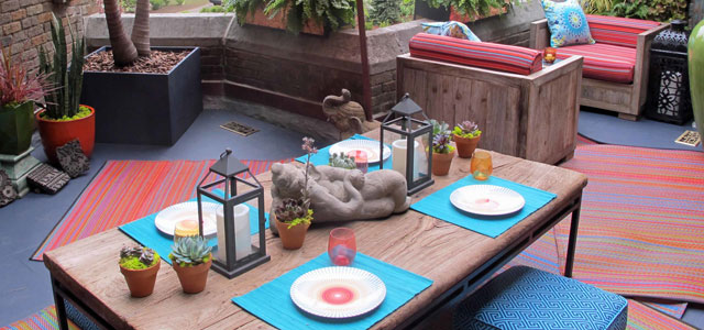 Vrolijk je terras of tuin op!