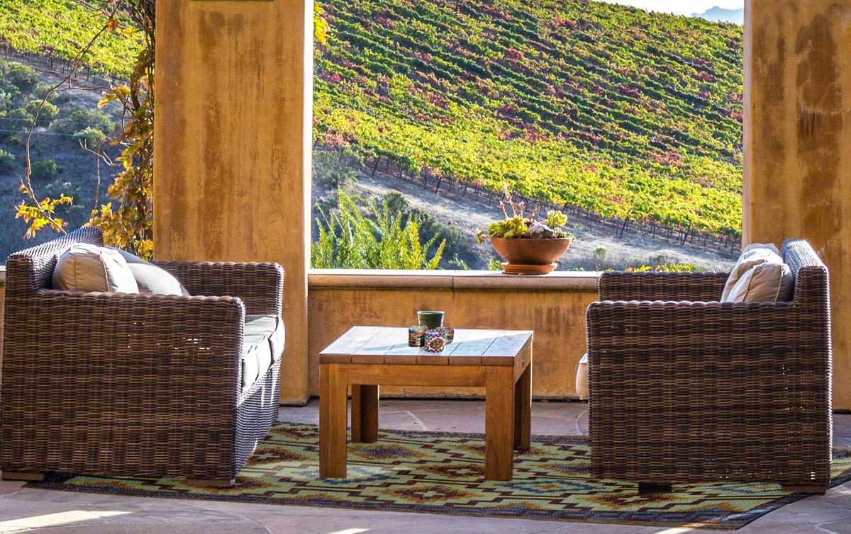 plastic kelim tapijt voor buiten en binnen - dubbelzijdig kleurvast