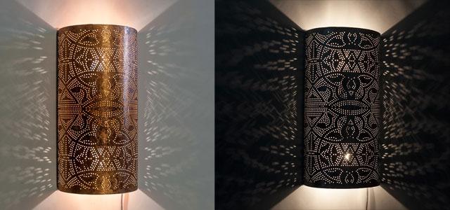 Filigrain wandlampen