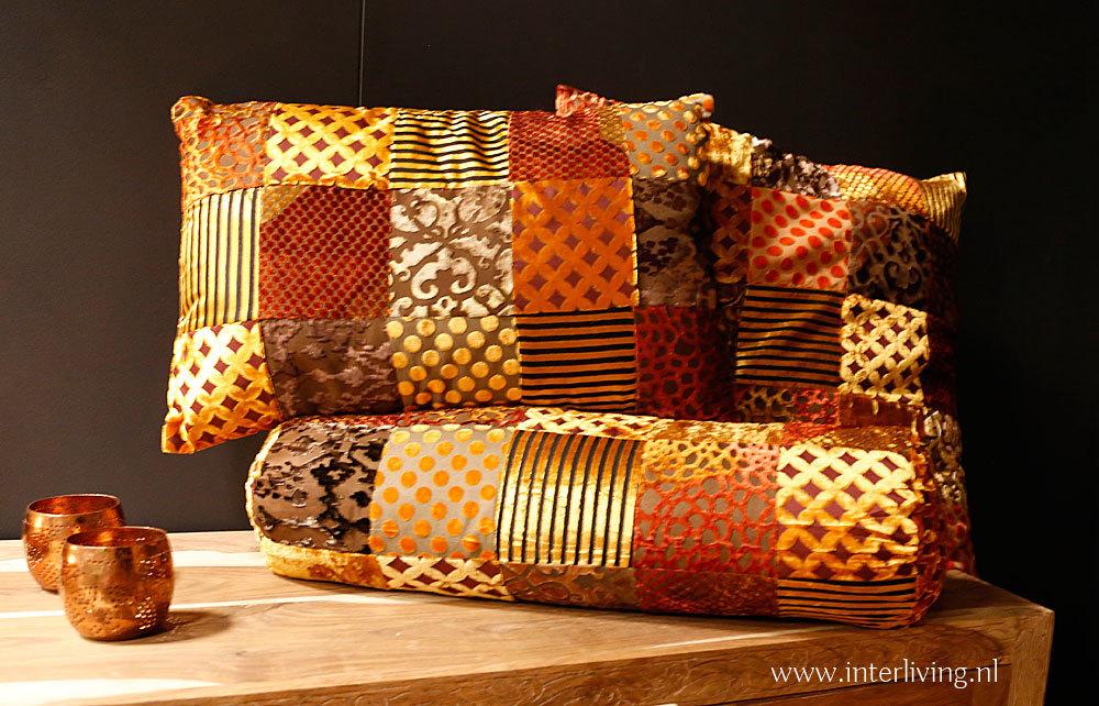kaars met brede houten lont