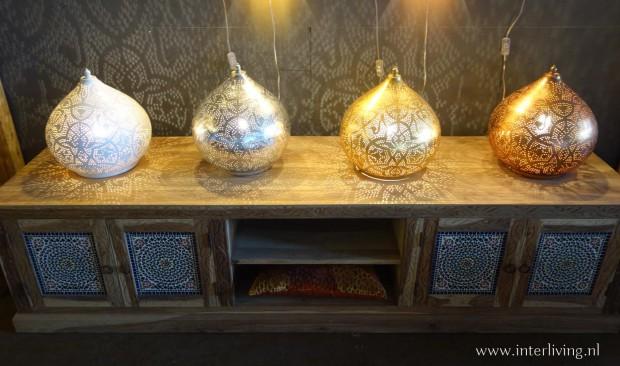 gaatjeslampen voor op tafel