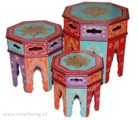 oosterse tafeltjes marokkaans
