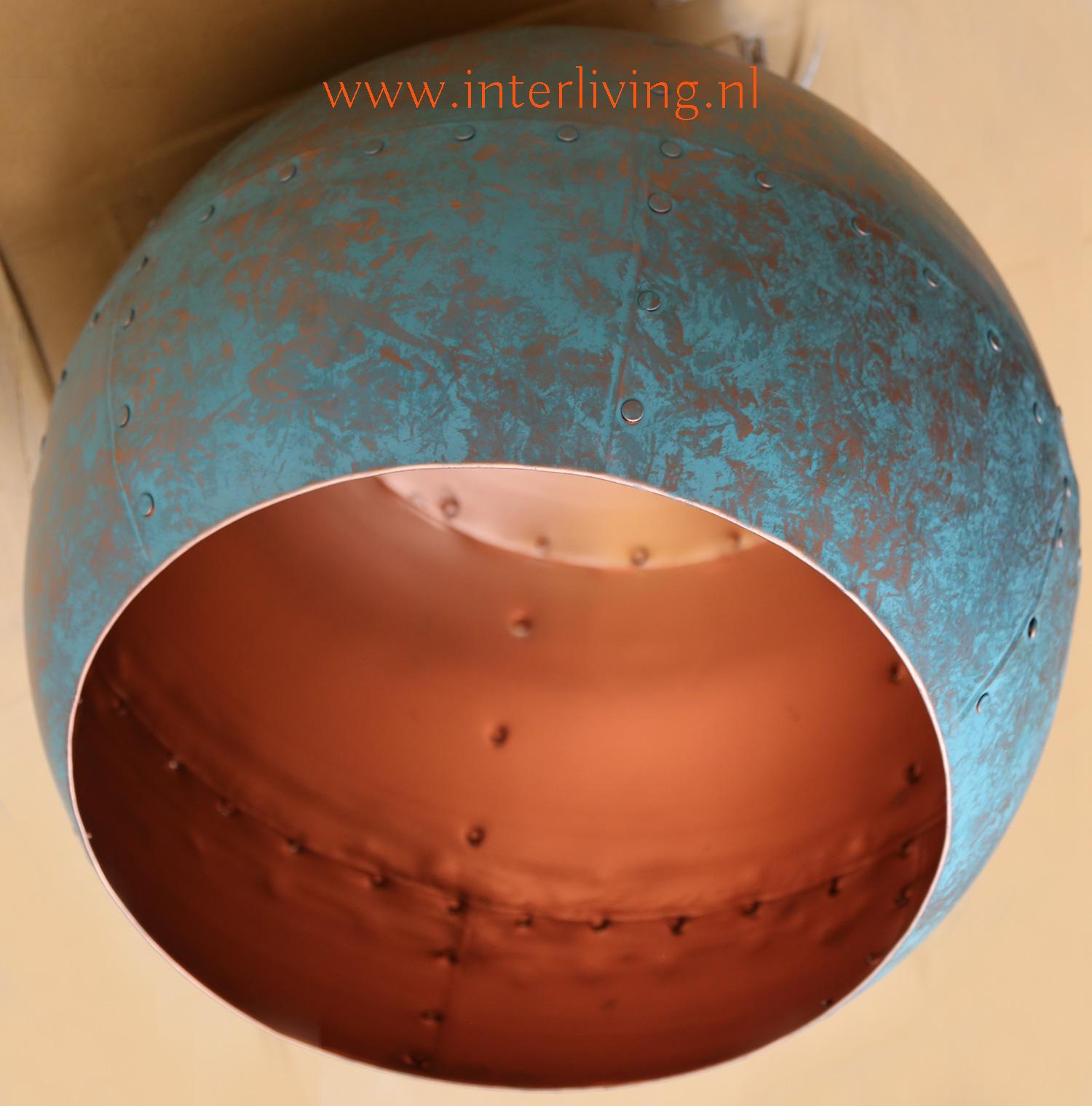 grote hanglamp - vintage look