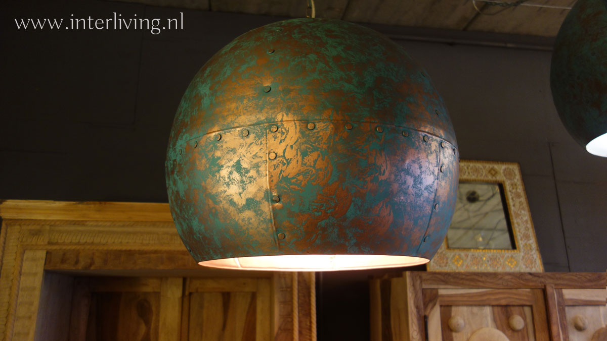 open hanglamp vintage stijl