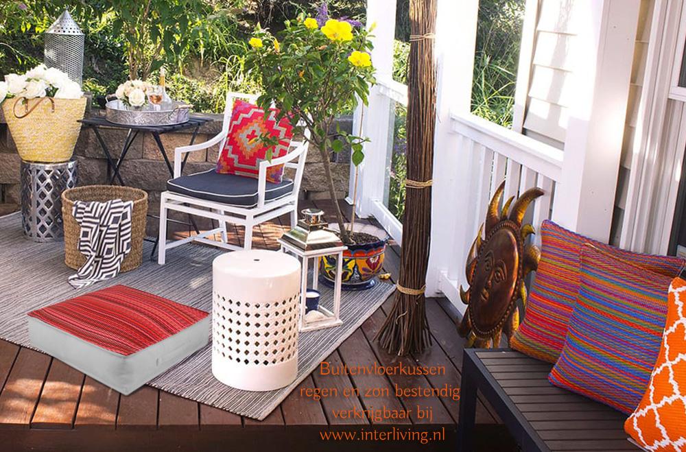 buitenkussens - voor tuin meubel set- weerbestendig