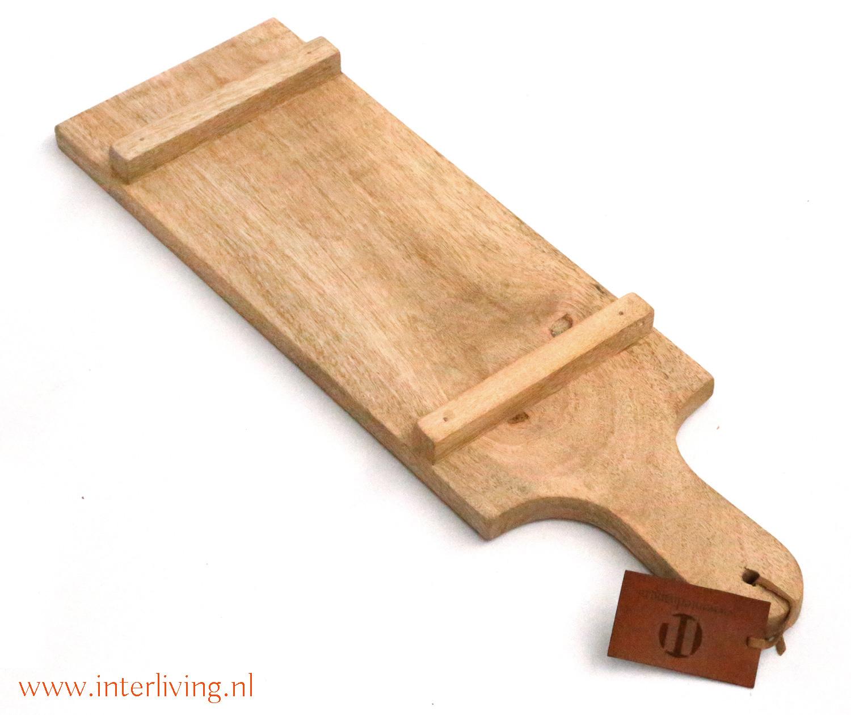 anti pasti plank - opstaand randje onderkant