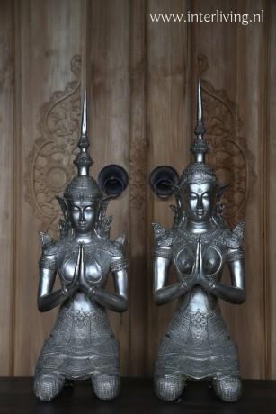 thaise boeddha's tempelwachters