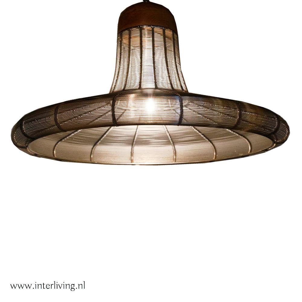 draadlamp - hoed 30 cm