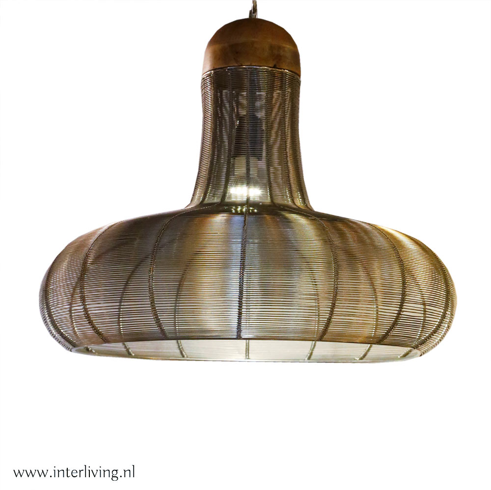 draadlamp hoed 40 cm