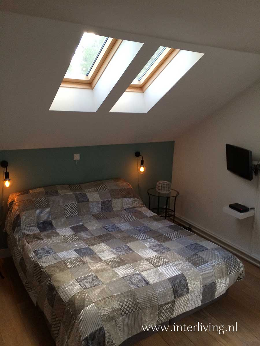 slaapkamer oosterse stijl - bedsprei