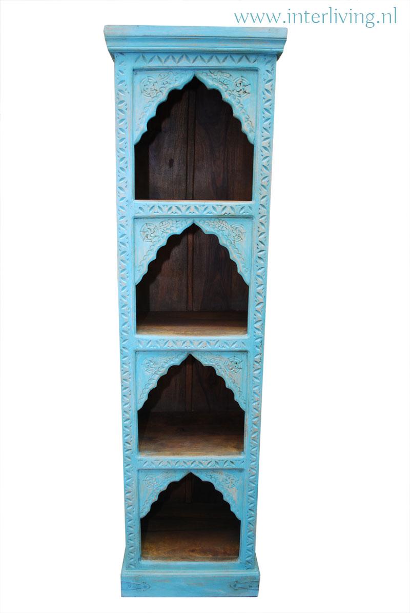 oosterse boekenkast
