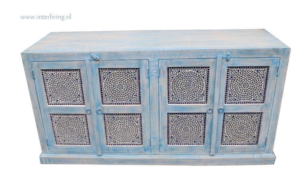 Indiase kast - blauw
