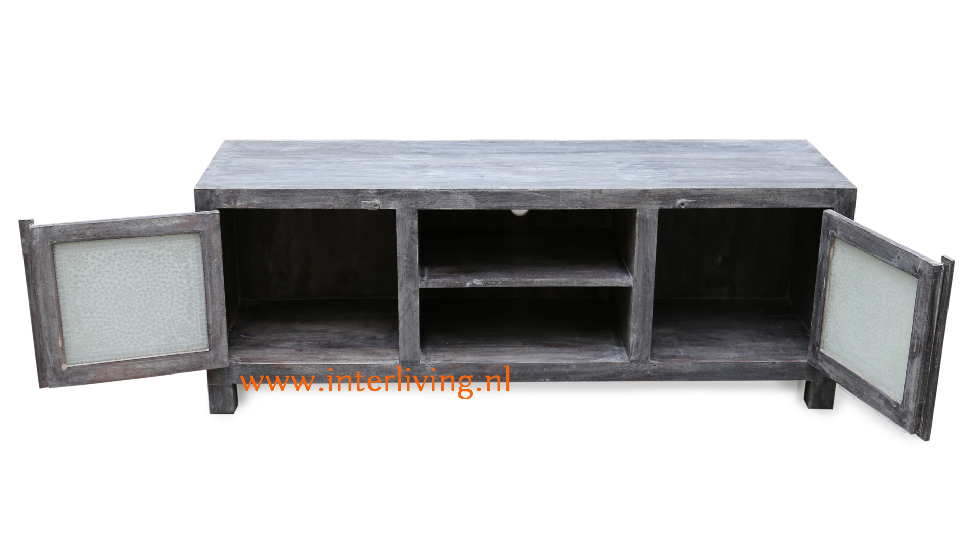 industrieel - basic boho - Scandinavische dressoir voor stoer en landelijke wonen - sober tvmeubel met extra opberg ruimte in huis