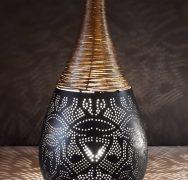 Oosterse staande lamp of tafellamp: een stoere lamp met een oosters effect!