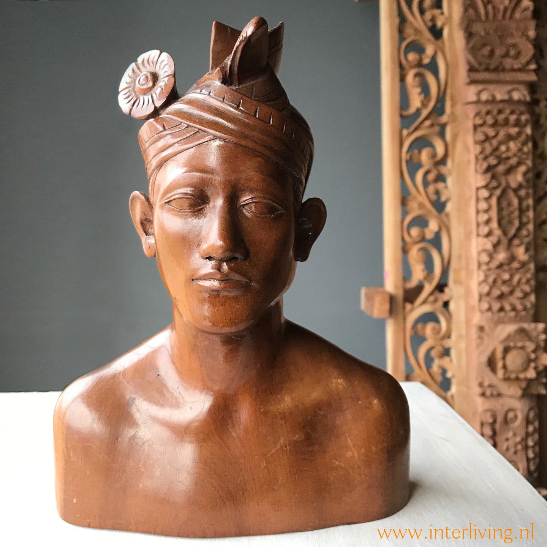 bijzonder cadeau - bruiloft - verjaardag - jubileum - houten beeld