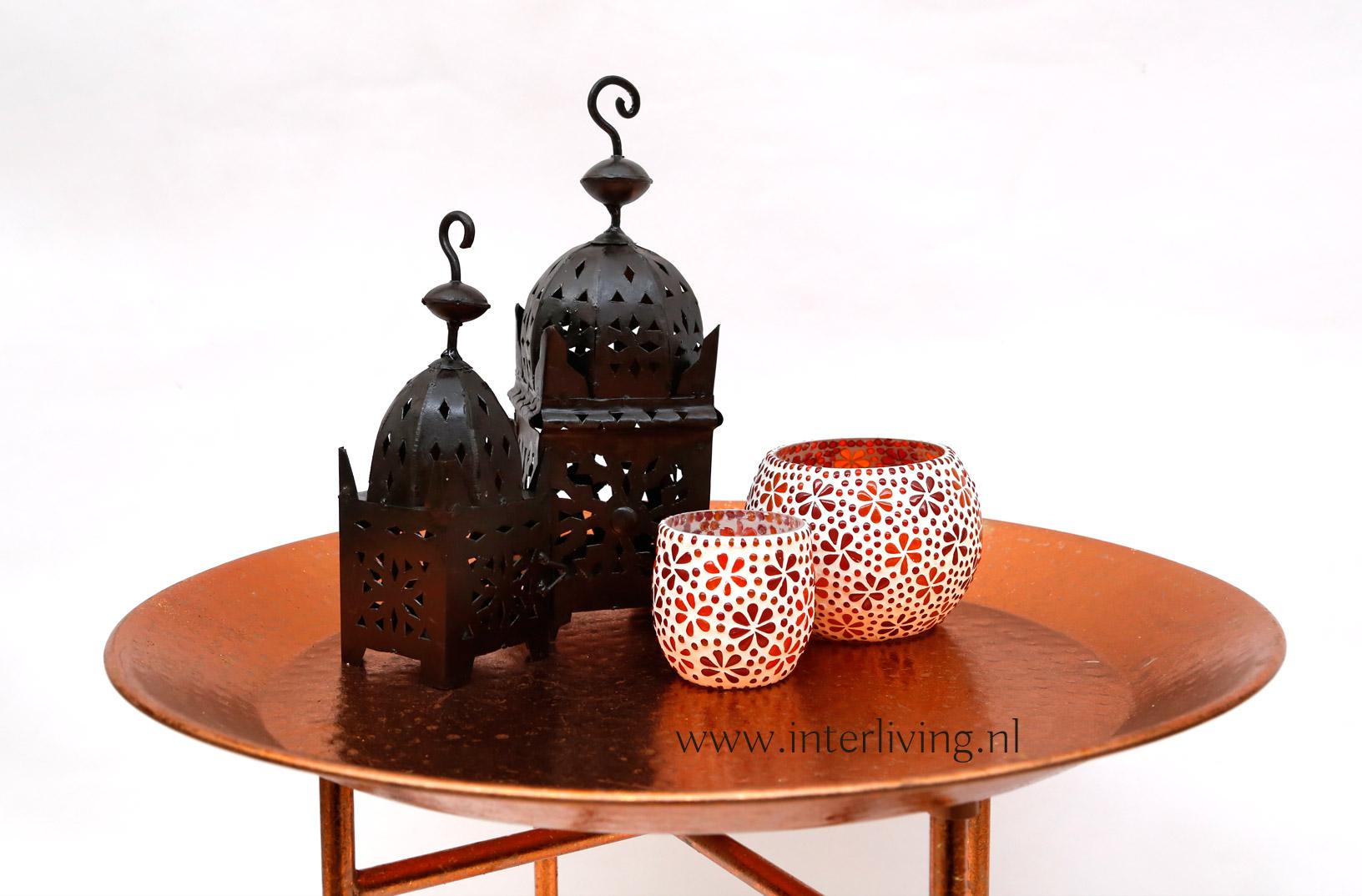 authentieke Arabische lantaarns - windlichten voor huis en tuin - boho styling idee woonstijl