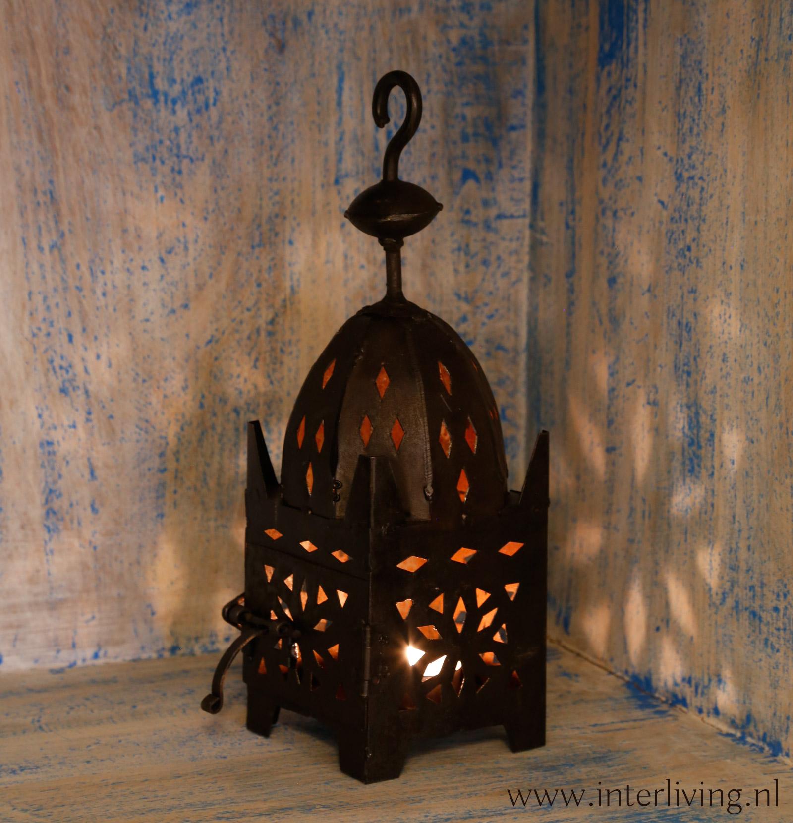 bohemian lantaarn - vtwonen interieur styling - woonstijl
