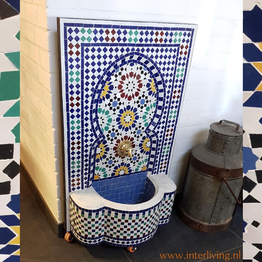 woontrend Marokkaanse tegelmozaiek - oosters stijl huis en tuin